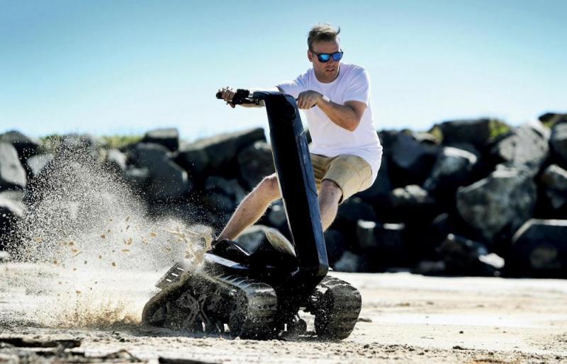 DTV, Shredder, Off road, Track vehicle,