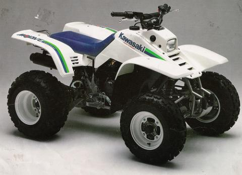 Kawasaki Mojave  Tires