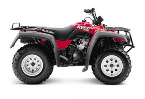 Suzuki Quadrunner  X Tire Size