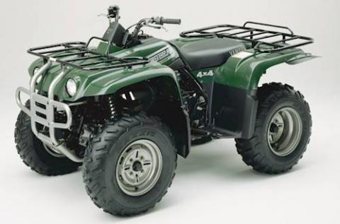 2003 Yamaha Yfm400 Big Bear 4x4 Massfx
